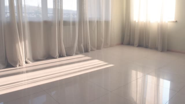 time lapse of sunlight in floor - tile stock videos & royalty-free footage