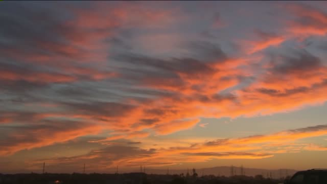 KTLA Time Lapse of Sunrise in Long Beach on August 6 2015