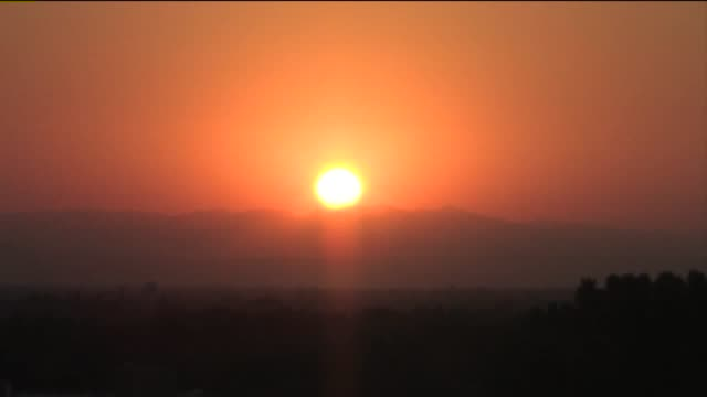 KTXL Time Lapse of Sunrise in Sacramento