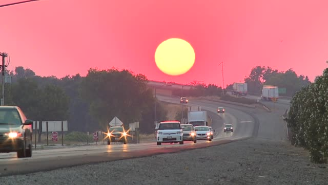 KTXL Time Lapse of Sunset in Sacramento