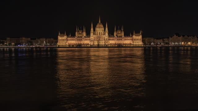 vidéos et rushes de time lapse of the hungarian parliament. - culture de l'europe de l'est