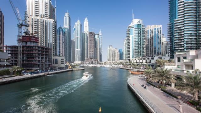 Time Lapse of the Marina area of Dubai,2016