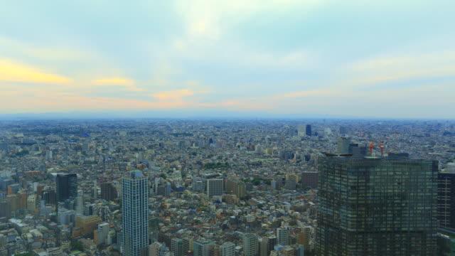 東京の街並の時間経過 - 昼から夜点の映像素材/bロール