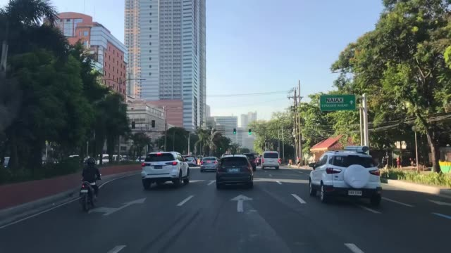 time lapse of traffic in manila - manila philippines stock videos and b-roll footage