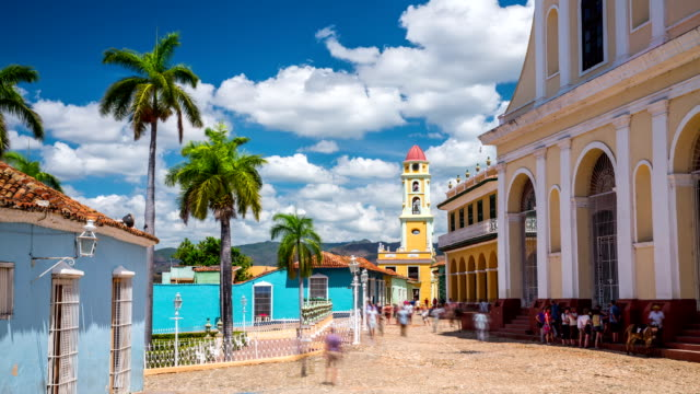 time lapse of trinidad , cuba - cuban stock videos and b-roll footage