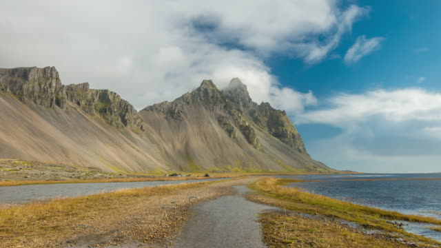 Time lapse of Vestrahorn mount