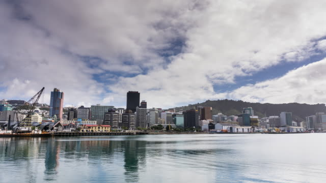 Time Lapse of Wellington Waterfront by Day