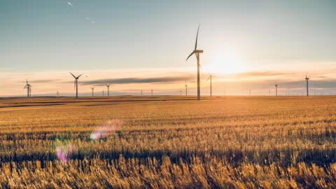 time lapse of windmill turbine - turbine stock videos & royalty-free footage