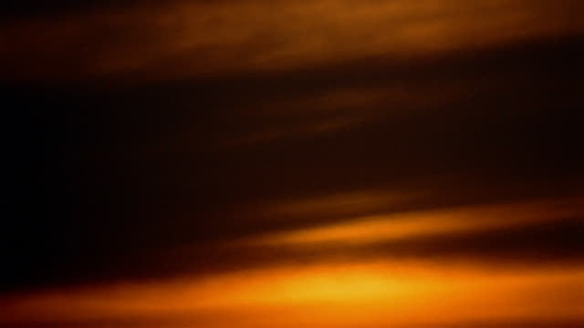 time lapse orange cloudy sky at sunset - 1989 stock videos & royalty-free footage