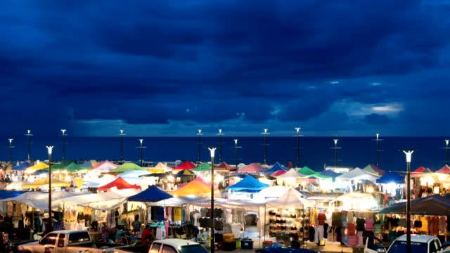 Zeitraffer: outdoor-Markt