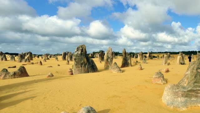 4K Time lapse (Panning): Pinnacles desert, Western Australia