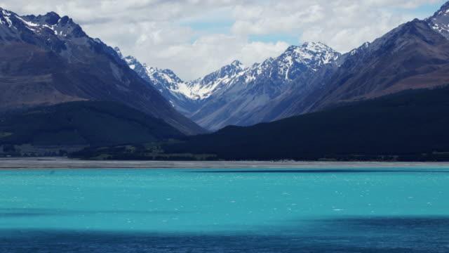 Time Lapse - Scenic view of Lake Tekapo, New Zealand