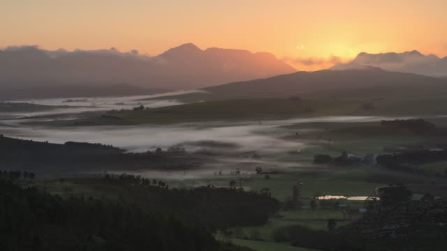 Time lapse scenics of Overberg, Western Cape, South Africa