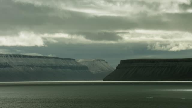 Time Lapse Sea View Of Devon Island