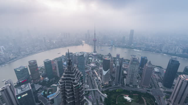 Time Lapse- Shanghai Panorama (WS HA Zoom out)