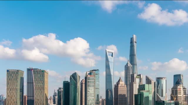 Time Lapse Shanghai Skyline