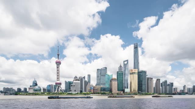 Time Lapse - Shanghai Skyline