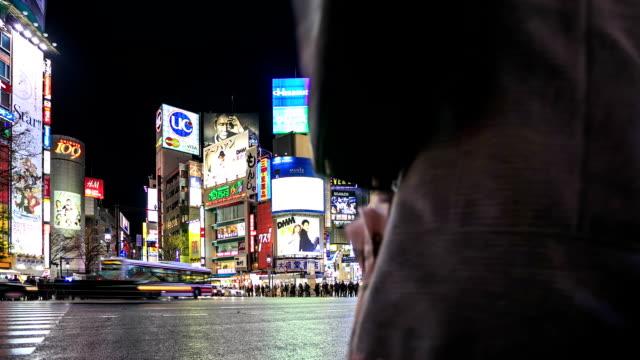 HD Time lapse: Shibuya kruising