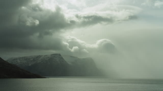 time lapse shot in remote northern canada - northwest passage stock videos and b-roll footage