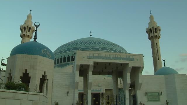 Time Lapse Shot King Abdullah Mosque Amman Governorate Jordan