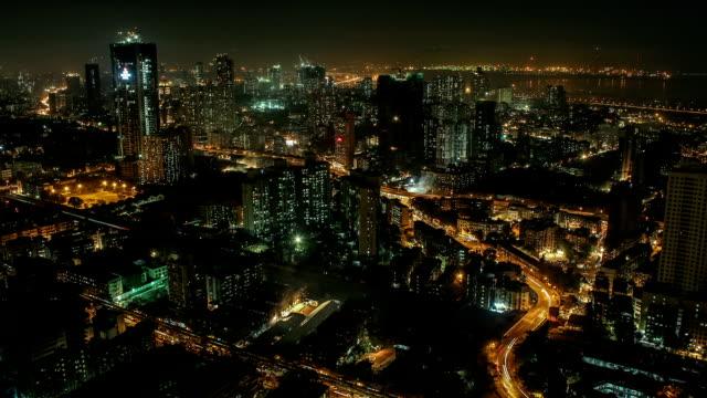 Time lapse shot of Central Mumbai - Parel
