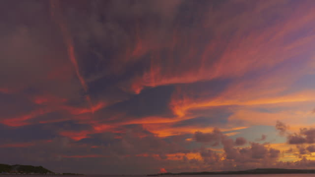 time lapse shot of moving clouds. summer. - dusk stock videos & royalty-free footage