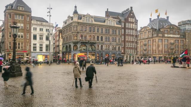 4K Time Lapse : Square of Bruges