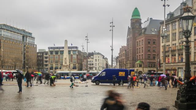 Time Lapse 4 K: Piazza di Bruges