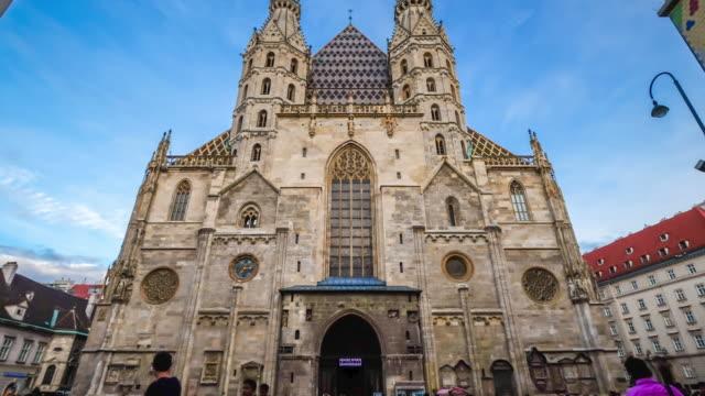 4K Zeitraffer: St. Stephens Cathedral, Wien