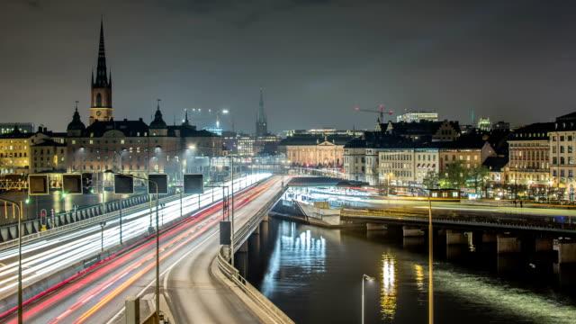 HD Time Lapse: Stockholm City Motion