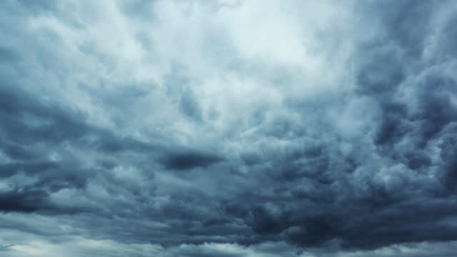 time lapse storm clouds - dramatic sky stock videos & royalty-free footage