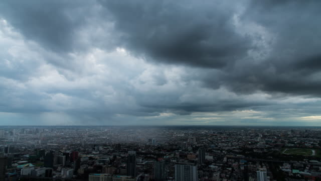 time lapse : storm in the city - storm cloud stock videos & royalty-free footage