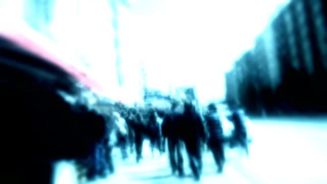 Time Lapse Street Walk