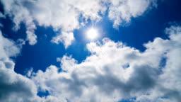 Time Lapse - Sun and Cloudscape