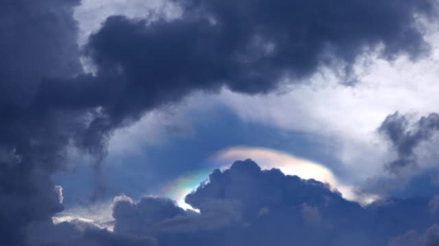 time lapse:  sun beam among clouds - bugtiger stock videos and b-roll footage