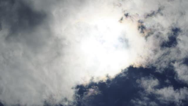 Time Lapse Sun Set Cloudy 1080p24
