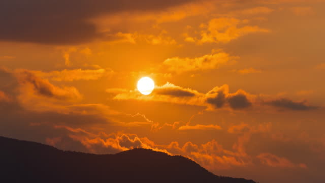 time lapse - sunrise - telephoto lens stock videos and b-roll footage