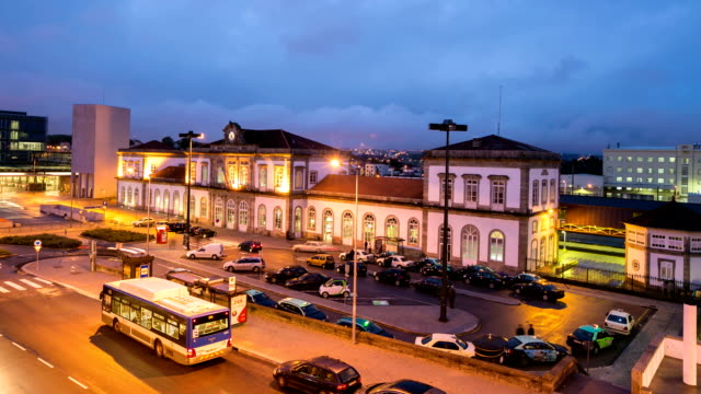 Time lapse : the station in Porto