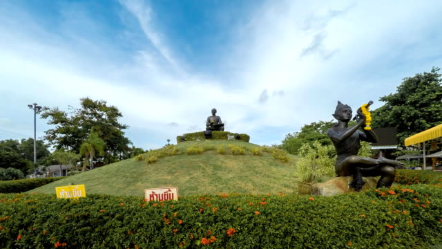 Time Lapse : The Statue of Sunthorn Phu