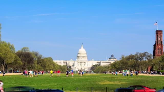 4 K Zeitraffer: United States Capitol