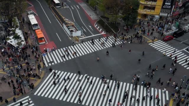 Zeitraffer. Tokyo. Shibuya-Station