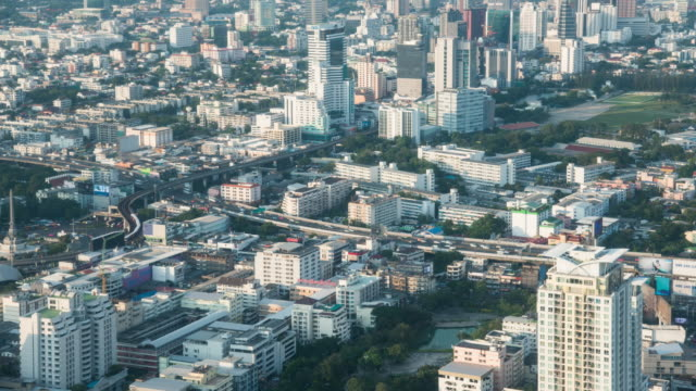 4k time lapse: traffic in bangkok, thailand - realisticfilm stock videos and b-roll footage