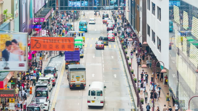time lapse : traffic transport  in hong kong city - refuelling stock videos & royalty-free footage