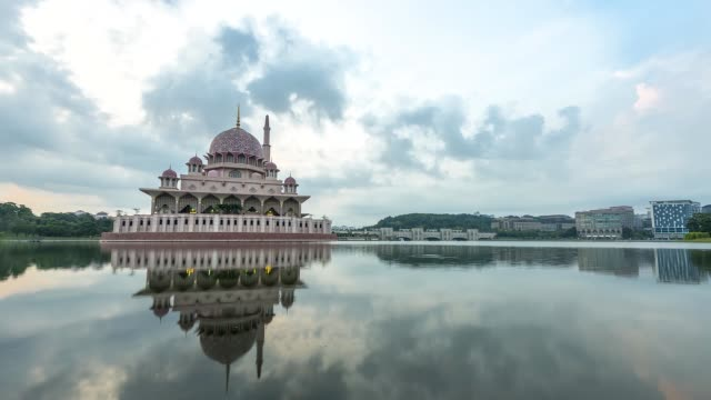 time lapse - putrajaya stock videos & royalty-free footage