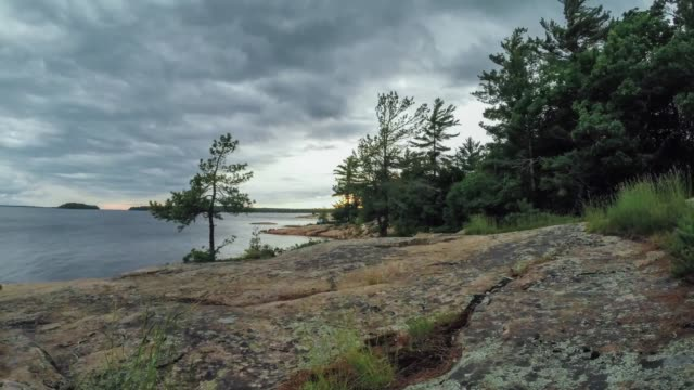Time lapse video of Killbear Provincial Park, Ontario, Canada