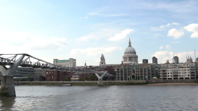 UHD Time Lapse Video Of St Paul's Cathedral, London, UK