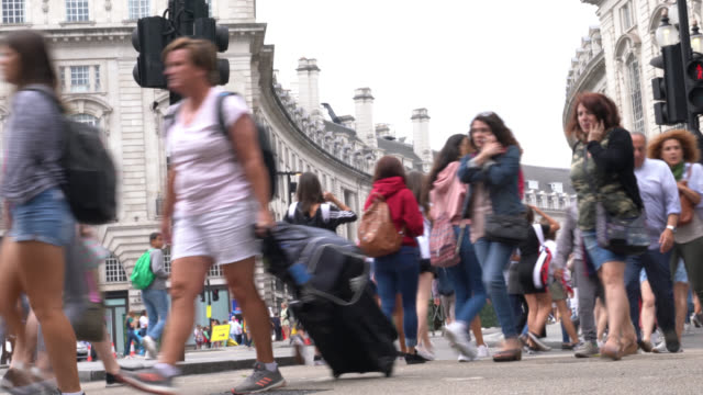 UHD Time Lapse Video Of Street Life In London