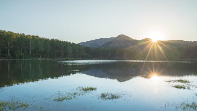 tids fördröjning video av sol uppgång vid sjön - digital spegelreflexkamera bildbanksvideor och videomaterial från bakom kulisserna