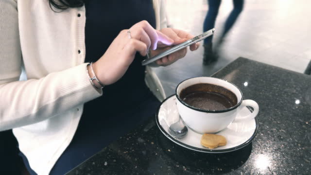 time lapse video of woman using phone in 4k - pin entry stock videos & royalty-free footage