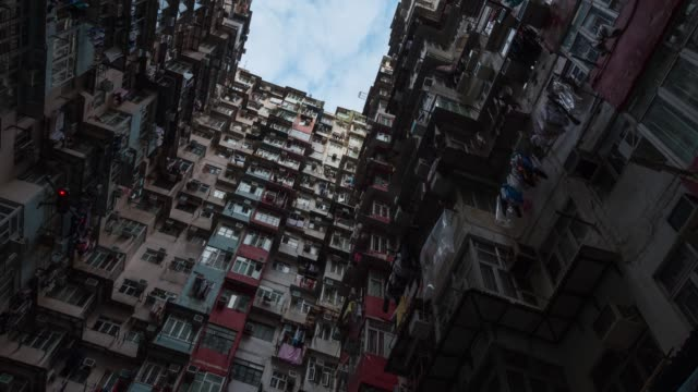 4K Time lapse : view of Hong Kong City